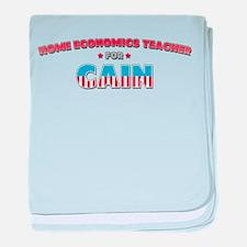 Home economics teacher for Ca baby blanket