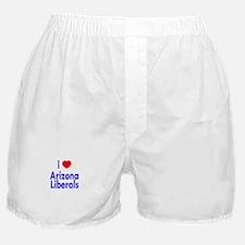 I Love Arizona Liberals Boxer Shorts