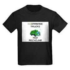 I love garbage trucks T-Shirt
