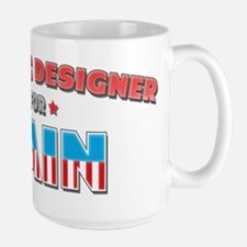 Graphic designer for Cain Mug