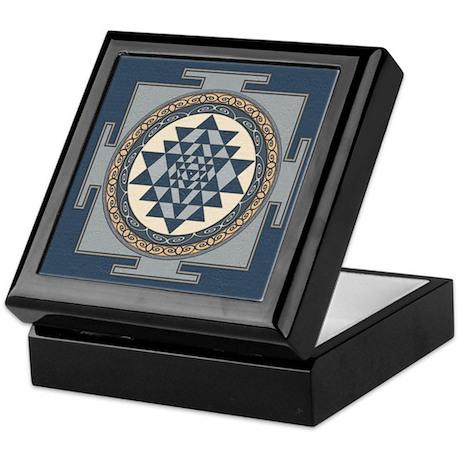 Sri Yantra Mandala Keepsake Box