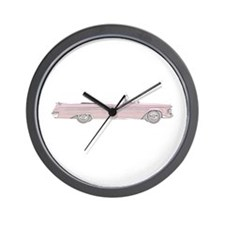 Imperial Crown Convertible - red Wall Clock