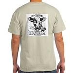 No More Cowbell Ash Grey T-Shirt
