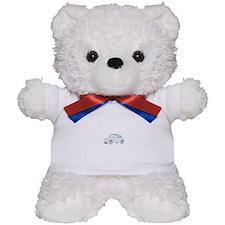 Fiat 500 Topolino Teddy Bear