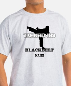 Personalized TaeKwonDo Black Belt T-Shirt