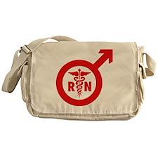 Scrubs Murse Male Nurse Symbol Messenger Bag
