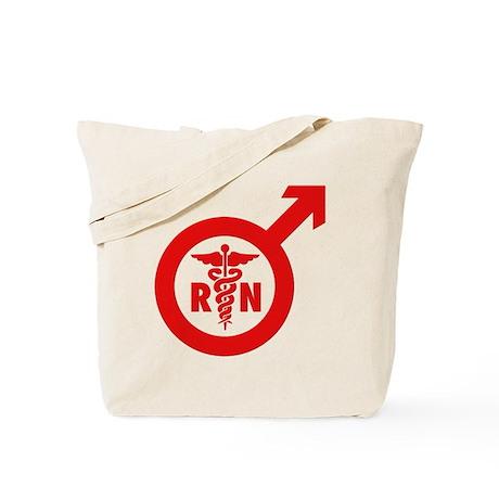 Scrubs Murse Male Nurse Symbol Tote Bag