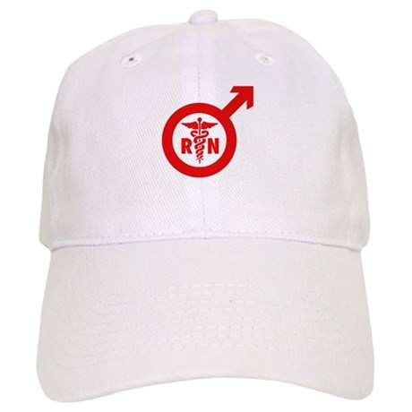 Scrubs Murse Male Nurse Symbol Cap