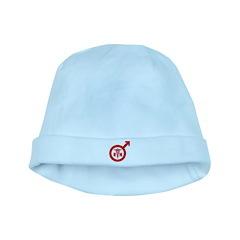 Scrubs Murse Male Nurse Symbol baby hat
