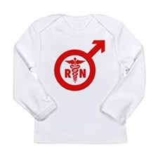 Scrubs Murse Male Nurse Symbol Long Sleeve Infant