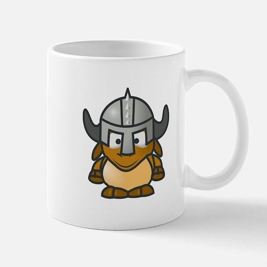 Cartoon Gnu Knight Mug