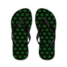 Cute Weed joint Flip Flops