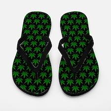 Cute Cannabis Flip Flops