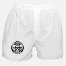 USN Damage Controlman Skull D Boxer Shorts