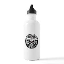 USN Damage Controlman Skull D Water Bottle