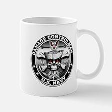 USN Damage Controlman Skull D Mug