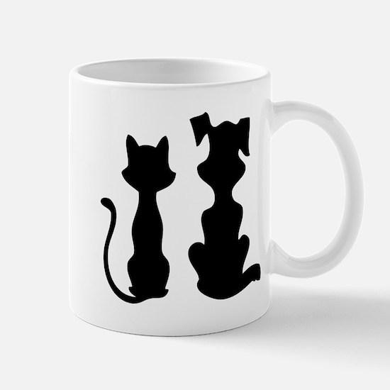Cat & dog Mug