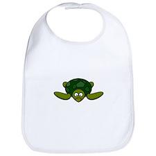 Cartoon Turtle Bib