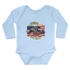 American Eagle Long Sleeve Infant Bodysuit