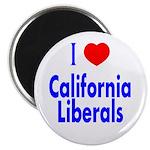 I Love California Liberals Magnet