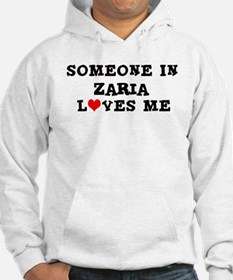 Someone in Zaria Hoodie Sweatshirt