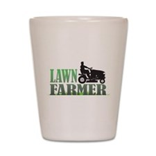 Lawn Farmer Shot Glass