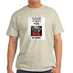 THE MORE I LOVE MY PUG Ash Grey T-Shirt