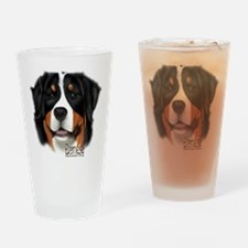 Cute Sennenhund Drinking Glass