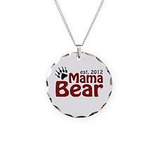 Mama Bear Est 2012 Necklace