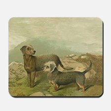 Bedlington and Dandy Dinmont Mousepad