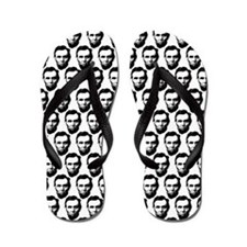 Unique Abraham lincoln Flip Flops