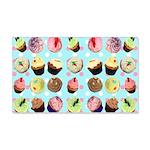 Polka Dot Cupcakes 22x14 Wall Peel