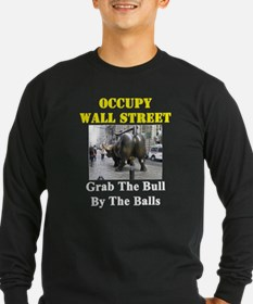 OWS - Grab The Bull By The Balls - Long Sleeve T