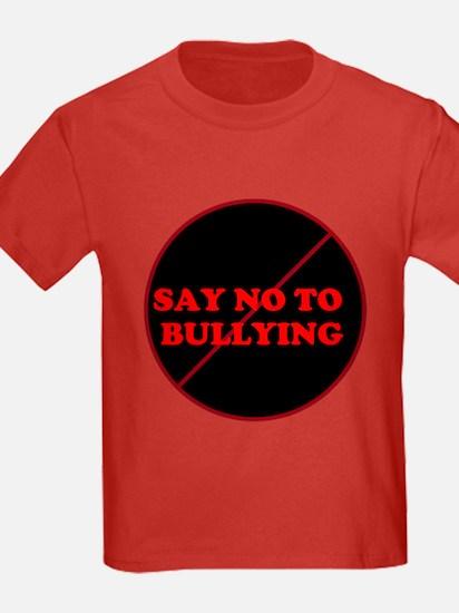 T - say no to bullying