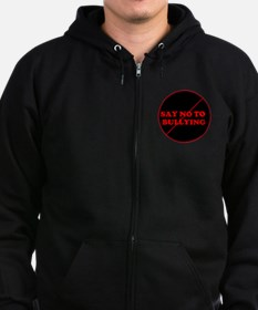Zip Hoodie (dark) Say No To Bullying