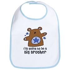 Teddy Bear Future Big Brother Bib