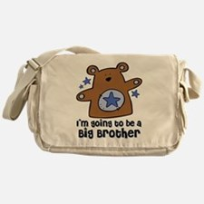 Teddy Bear Future Big Brother Messenger Bag