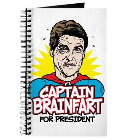 Perry Captain Brain Fart Journal