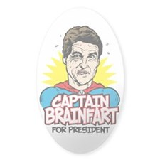 Perry Captain Brain Fart Decal