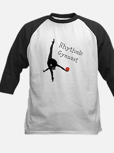 Rhythmic Gymnast Kids Baseball Jersey