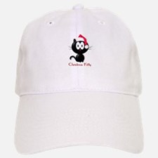 christmas kitty Baseball Baseball Cap