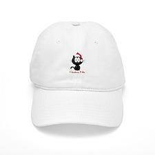 christmas kitty Baseball Cap