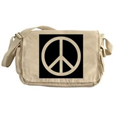 Peace Symbol Messenger Bag