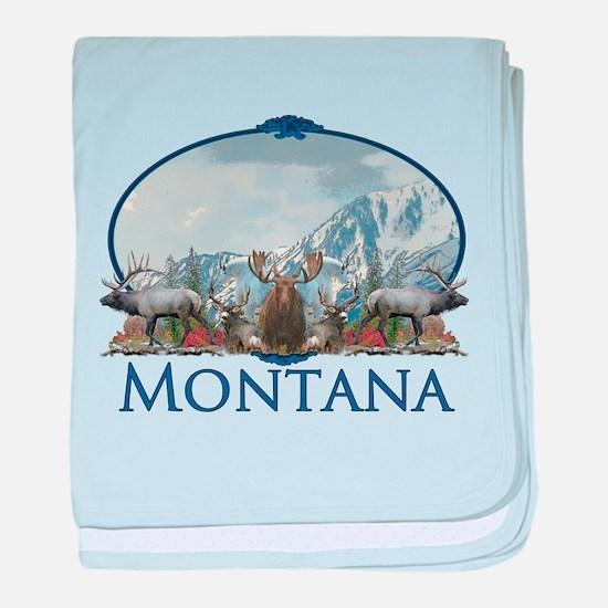 Montana baby blanket