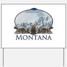 Montana Yard Sign