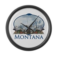 Montana Large Wall Clock