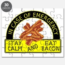Stay Calm, Eat Bacon Puzzle
