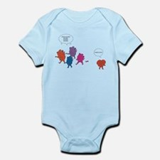 Heart Zombies Color Infant Bodysuit