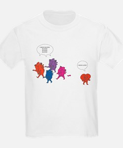 Heart Zombies Color T-Shirt