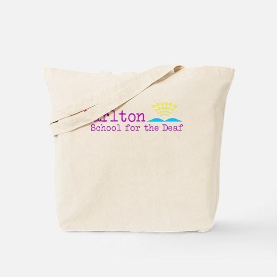 Carlton School for the Deaf Tote Bag